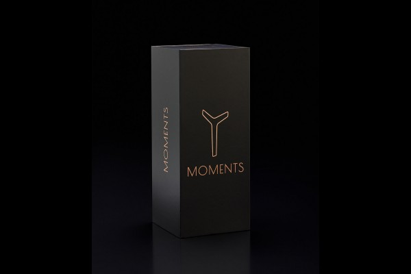 MOMENTS Tischleuchte Yellow Gold Opal Cylinder